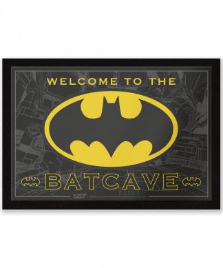 Paillasson Welcome To The Batcave DC Comics chez Casa Décoration