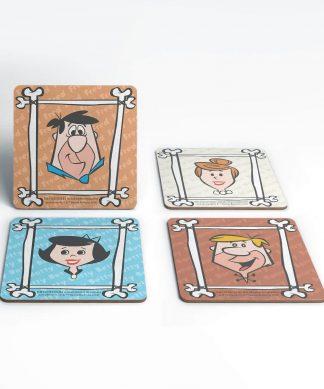 The Flintstones Characters Coaster Set chez Casa Décoration