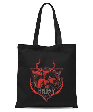 Hellboy Hell's Hero Tote Bag - Black chez Casa Décoration