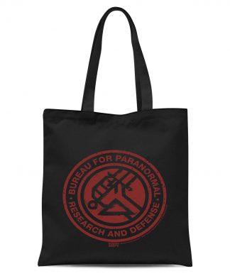 Hellboy B.P.R.D. Tote Bag - Black chez Casa Décoration