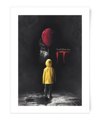 IT You'll Float Too - Giclee Art Print - A4 - Print Only chez Casa Décoration