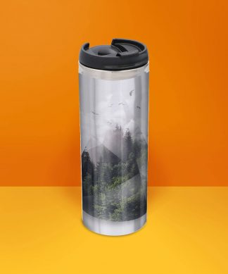 Forest Triangle Thermo Insulated Travel Mug chez Casa Décoration