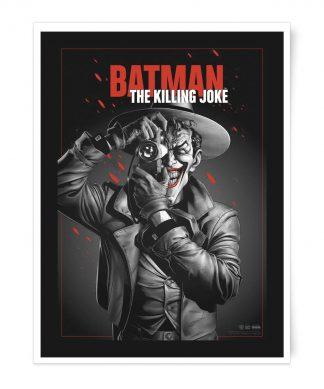 Poster Fine Art Giclée The Killing Joke - A4 chez Casa Décoration