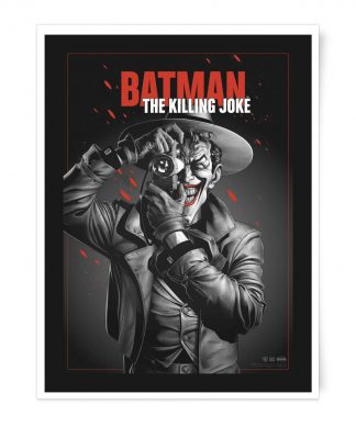 Poster Fine Art Giclée The Killing Joke - A2 chez Casa Décoration