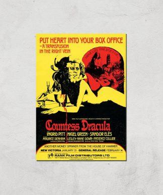 Countess Dracula Giclee Art Print - A4 - Print Only chez Casa Décoration