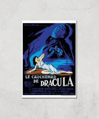 Le Cauchemar De Dracula Giclee Art Print - A3 - Print Only chez Casa Décoration