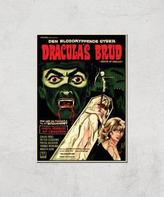 Dracula's Brud Giclee Art Print - A2 - Print Only chez Casa Décoration