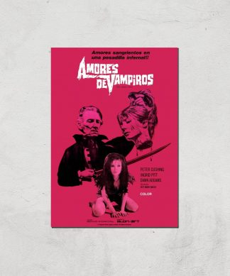 Amores De Vampiros Giclee Art Print - A4 - Print Only chez Casa Décoration