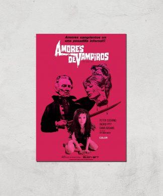 Amores De Vampiros Giclee Art Print - A3 - Print Only chez Casa Décoration