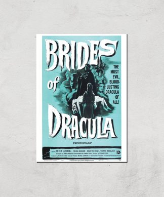 Brides Of Dracula Giclee Art Print - A4 - Print Only chez Casa Décoration