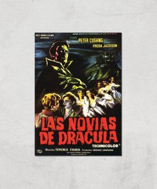 Las Novias De Dracula Giclee Art Print - A4 - Print Only chez Casa Décoration
