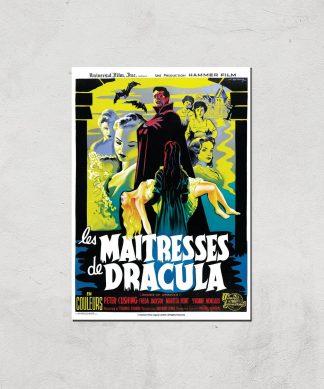 Les Maitresses De Dracula Giclee Art Print - A2 - Print Only chez Casa Décoration