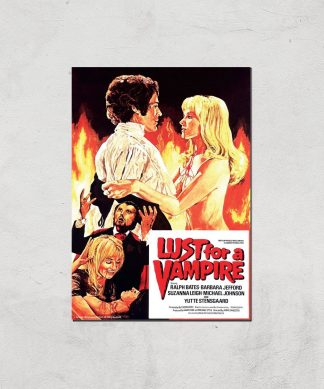 Lust For A Vampire Giclee Art Print - A4 - Print Only chez Casa Décoration