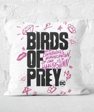 Coussin Birds of Prey - 50x50cm - Soft Touch chez Casa Décoration