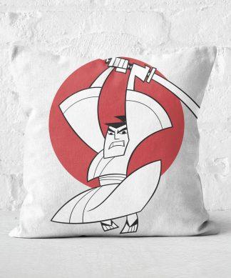 Samurai Jack Sunrise Square Cushion - 50x50cm - Soft Touch chez Casa Décoration