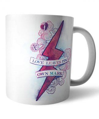 Harry Potter Love Leaves Its Own Mark Mug chez Casa Décoration
