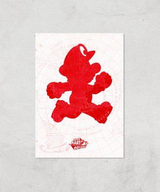 Nintendo Lets A Go Go Art Print - A4 - Print Only chez Casa Décoration