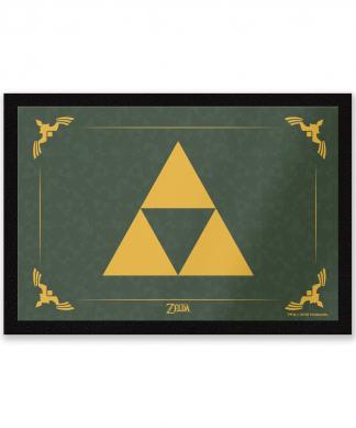 Paillasson Triforce Nintendo chez Casa Décoration