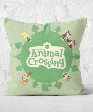 Animal Crossing Square Cushion - 50x50cm - Soft Touch chez Casa Décoration