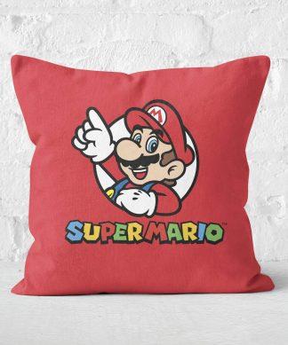 Super Mario Square Cushion - 50x50cm - Soft Touch chez Casa Décoration