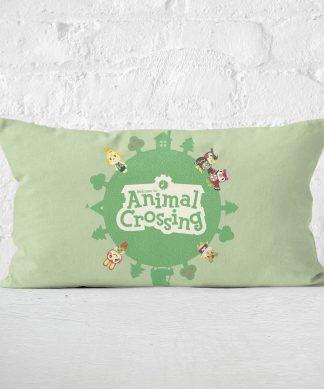 Animal Crossing Rectangular Cushion - 30x50cm - Eco Friendly chez Casa Décoration