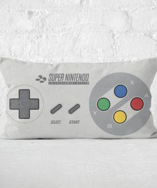 Nintendo SNES Cushion Rectangular Cushion - 30x50cm - Soft Touch chez Casa Décoration
