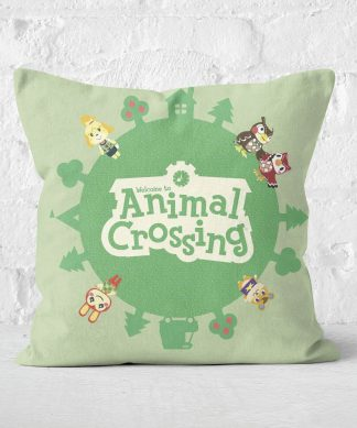 Animal Crossing Square Cushion - 60x60cm - Soft Touch chez Casa Décoration