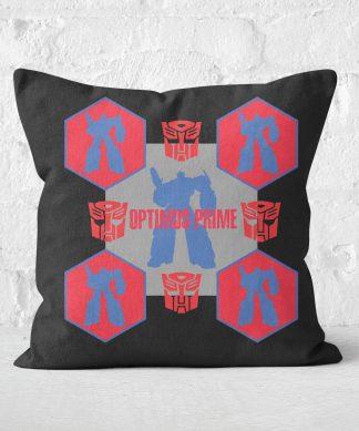 Transformers Optimus Prime Square Cushion - 50x50cm - Soft Touch chez Casa Décoration