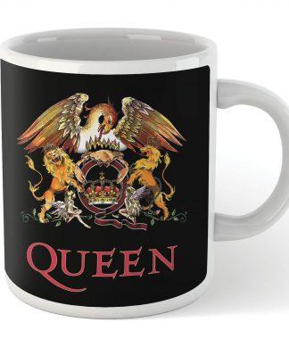 Queen Crest Mug - Black chez Casa Décoration