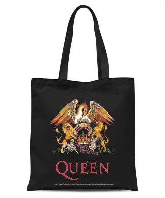 Queen Crest Tote Bag - Black chez Casa Décoration