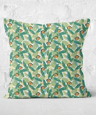 Green Jurassic Park Square Cushion 40x40cm - 50x50cm - Eco Friendly chez Casa Décoration