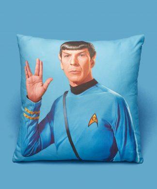 Star Trek - Coussin Spock - 50x50cm - Soft Touch chez Casa Décoration