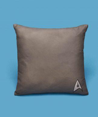 Star Trek - Coussin Star Trek Pattern And Logo - 50x50cm - Eco Friendly chez Casa Décoration