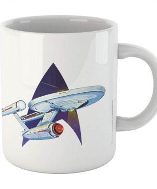 Star Trek - Tasse Retro Star Trek - Blanche chez Casa Décoration
