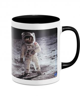 NASA Moon Landing Mug - White/Black chez Casa Décoration