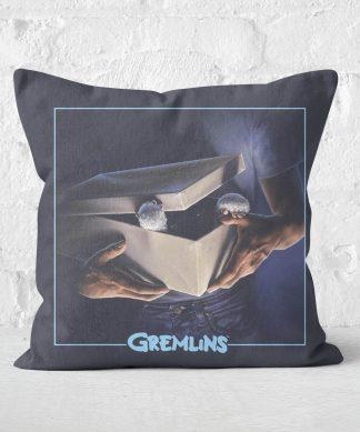 Gremlins Poster Square Cushion - 50x50cm - Soft Touch chez Casa Décoration