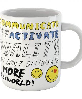 Positive Message Smiley Mug chez Casa Décoration