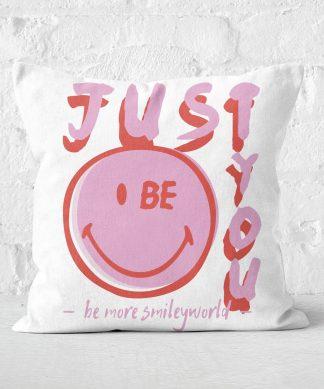 Just Be You Cushion Square Cushion - 50x50cm - Soft Touch chez Casa Décoration