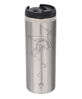 Magic: The Gathering Theros: Beyond Death Helmet Steel Stainless Steel Thermo Travel Mug - Metallic Finish chez Casa Décoration