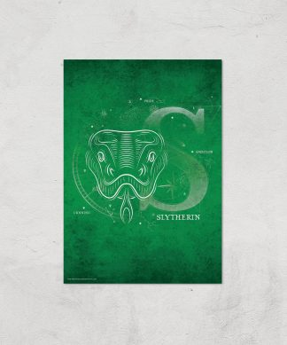 Harry Potter Slytherin Giclee Art Print - A2 - Print Only chez Casa Décoration