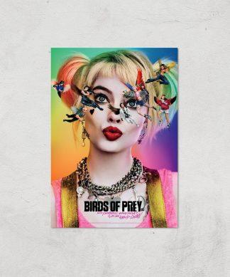 DC Birds Of Prey Giclee Art Print - A2 - Print Only chez Casa Décoration