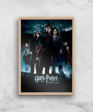 Harry Potter and the Goblet Of Fire Giclee Art Print - A4 - Wooden Frame chez Casa Décoration