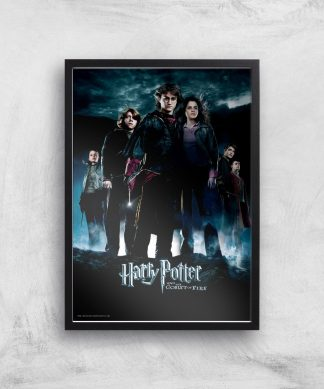 Harry Potter and the Goblet Of Fire Giclee Art Print - A4 - Black Frame chez Casa Décoration