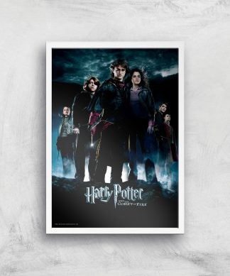 Harry Potter and the Goblet Of Fire Giclee Art Print - A3 - White Frame chez Casa Décoration