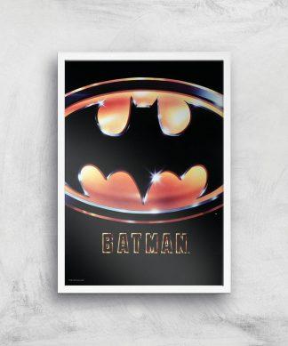Batman 89 Giclee Art Print - A3 - White Frame chez Casa Décoration