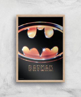 Batman 89 Giclee Art Print - A2 - Wooden Frame chez Casa Décoration