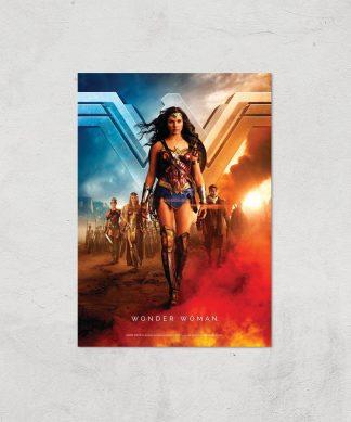 DC Wonder Woman Giclee Art Print - A4 - Print Only chez Casa Décoration
