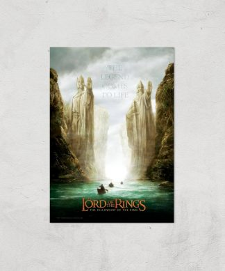 Lord Of The Rings: The Fellowship Of The Ring Giclee Art Print - A2 - Print Only chez Casa Décoration