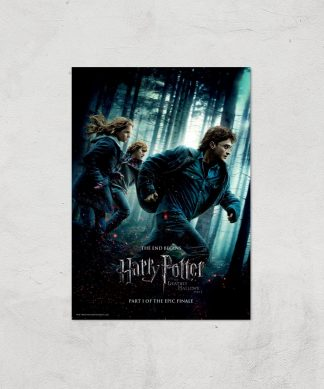 Harry Potter and the Deathly Hallows Part 1 Giclee Art Print - A4 - Print Only chez Casa Décoration