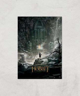 The Hobbit: The Desolation Of Smaug Giclee Art Print - A3 - Print Only chez Casa Décoration